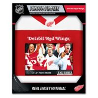 NHL Detroit Redwings Uniformed Photo Frame