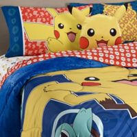 Pokemon Pikachu Reversible Twin/Full Comforter