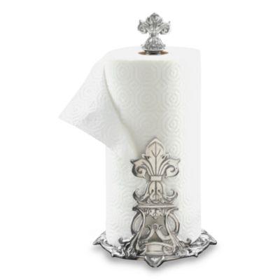 Arthur Court Designs Fleur De Lis Paper Towel Holder