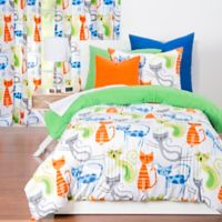 Learning Linens Smarty Cat Reversible Full/Queen Comforter Set