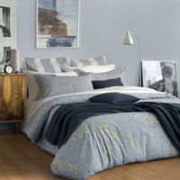 Bellora® Luxury Italian-Made Butterfly King Duvet Cover in Blue