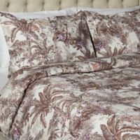 Vesper Lane Jungle Paradise King Duvet Cover Set in Brown