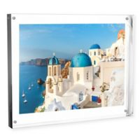 Nottingham Home 8-Inch x 10-Inch Clear Acrylic Block Frame