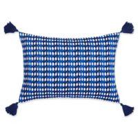 Trina Turk Samba De Roda Oblong Throw Pillow in Dark Blue