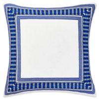 Trina Turk Samba De Roda European Pillow Sham in Bright Blue