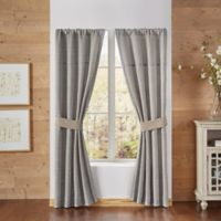 Croscill® Berin 84-Inch Rod Pocket Window Curtain Panel Pair in Neutral