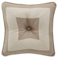 Croscill® Berin Square Throw Pillow in Neutral