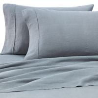 Wamsutta® Vintage Washed Linen Percale Standard Pillowcase in Aegean