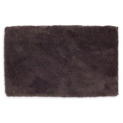 Wamsutta Ultra Soft 17 Inch X 24 Bath Rug In Black Plum