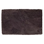 Wamsutta® Ultra Soft 21-Inch x 34-Inch Bath Rug in Black Plum