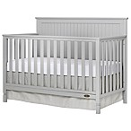 Dream On Me Alexa 4-in-1 Convertible Crib in Pebble Grey