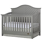 Dream On Me Ella 5-in-1 Convertible Crib in Grey