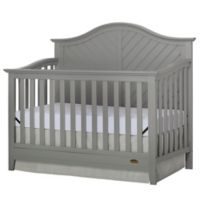 Dream On Me Ella 5-in-1 Convertible Crib in Grey