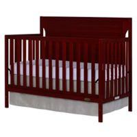 Dream On Me Cape Cod 5-in-1 Convertible Crib in Cherry