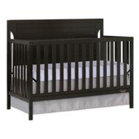 Dream On Me Cape Cod 5-in-1 Convertible Crib in Dark Brown