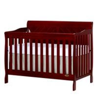 Dream On Me Ashton 4-in-1 Convertible Crib in Cherry