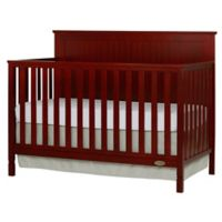 Dream On Me Alexa 4-in-1 Convertible Crib in Cherry