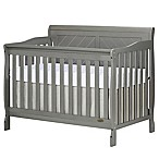 Dream On Me Ashton 4-in-1 Convertible Crib in Grey