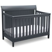 Delta New Haven 4-in-1 Convertible Crib in Grey