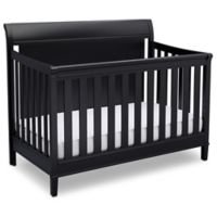 Delta New Haven 4-in-1 Convertible Crib in Black