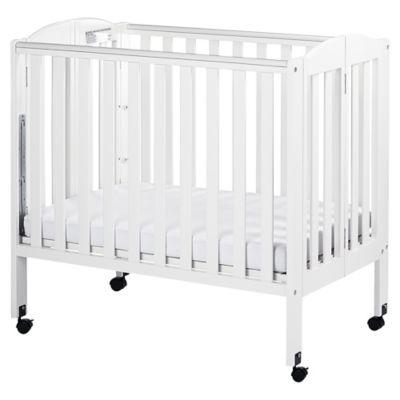 Dream On Me 3 In 1 Folding Portable Crib In White