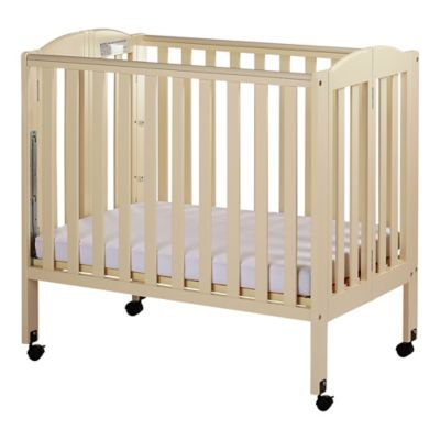 Dream On Me 3 In 1 Folding Portable Crib In French White