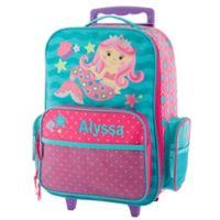 Stephen Joseph® Mermaid Rolling Luggage in Teal