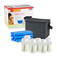 Ameda Cool 'N Carry Milk Insulated Storage Tote with 6 Bottles