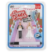 NPW Drinking Buddies Happy Couple Drink Markers (Set of 2)