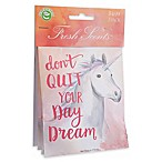 Willowbrook Fresh Scents 3-Pack Don't Quit Your Dreams Sachets