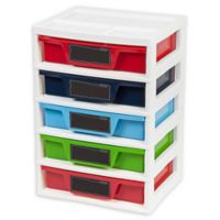 IRIS® USA, Inc 5-Drawer Storage & Organizer Chest for Boys