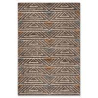 Safavieh Ann Stone Wash 4' x 6' Area Rug in Dark Brown