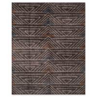 Safavieh Ann Stone Wash 8' x 10' Area Rug in Dark Brown