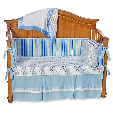 Caden Lane® Hudson 4-Piece Crib Bedding Set