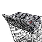 SKIP*HOP® Zebra Take Cover Shopping Cart and High Chair Cover in Black