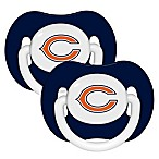 Baby Fanatic® NFL Chicago Bears 2-Pack Pacifier Set