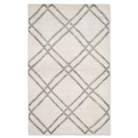 Safavieh Stone Wash Kim 4' x 6' Area Rug in Grey