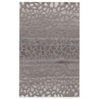 Momeni Delhi 5-Foot x 8-Foot Area Rug in Silver
