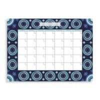 WallPops!® Malaya Monthly Dry Erase Calendar in Blue