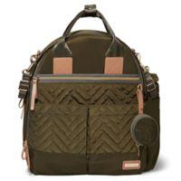 SKIP*HOP® Suite 6-Piece Diaper Backpack Set in Olive
