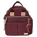 SKIP*HOP® Suite 6-Piece Diaper Backpack Set in Merlot