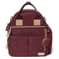 SKIP*HOP® Suite 6-Piece Diaper Backpack Set in Merlot