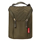 SKIP*HOP® Grab & Go Double Bottle Bag in Olive
