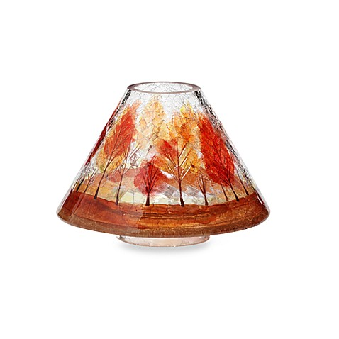 Yankee candle autumn leaves crackle jar shade bed bath beyond yankee candle autumn leaves crackle jar shade mozeypictures Gallery