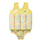 Splash About Size 2-4Y 2-Piece Apple Daisy Floatsuit in Blue/Pink