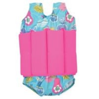 Splash About Size 2-4Y Tutti Frutti Floatsuit in Pink/Blue