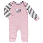 asher and olivia® Size 0-3M Arctic Chic Coverall in Pink