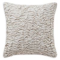 Highline Bedding Co. Hoyt 14-Inch Square Throw Pillow in Bronze