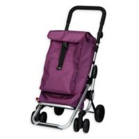 PlayMarket Go Up Rolling Shopping Trolley in Grey