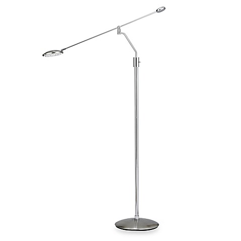 Adesso trapeze balance arm floor lamp bed bath beyond adesso trapeze balance arm floor lamp aloadofball Images